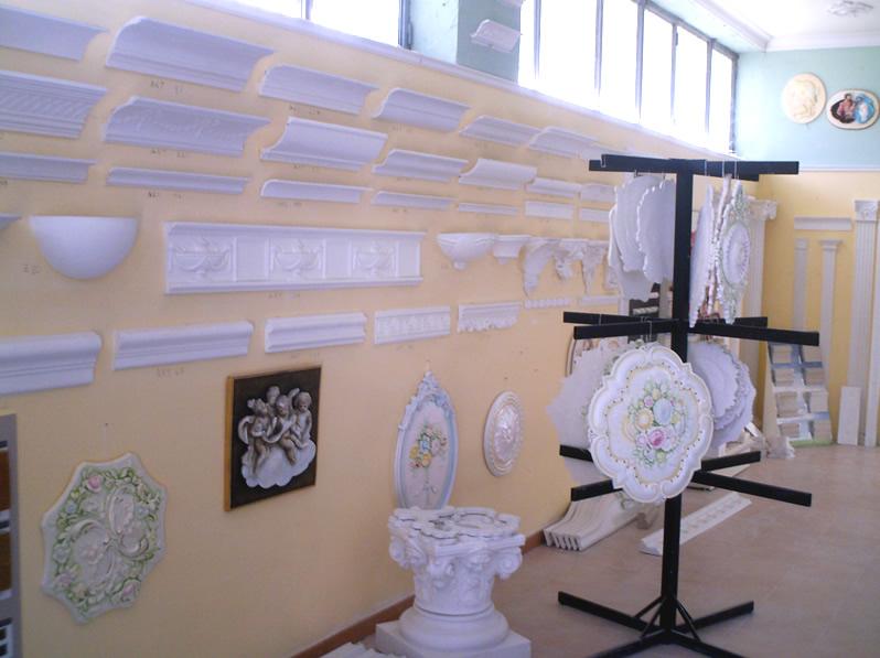 Gessolini decorativi pannelli termoisolanti - Cornici decorative in gesso ...
